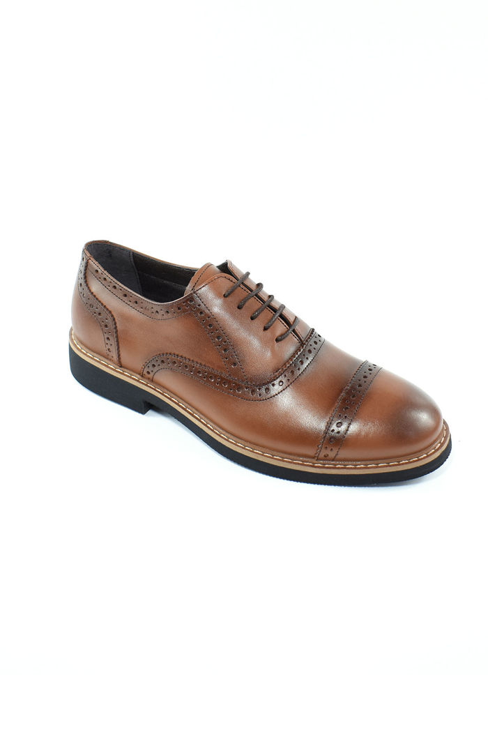 Hakiki Deri Erkek Günlük Ayakkabı resmi